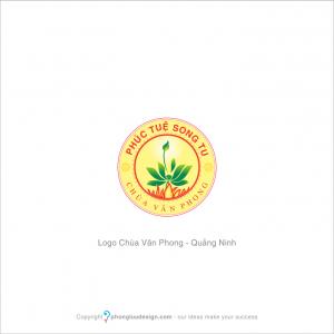 Thiết kế logo Chùa Vân Phong, Quảng Ninh