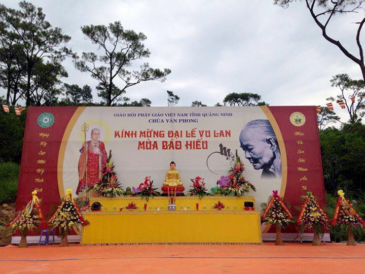 backdrop Vu Lan