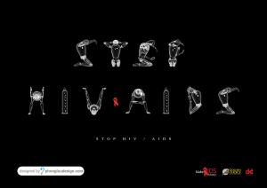 Thiết kế Poster phòng chống HIV