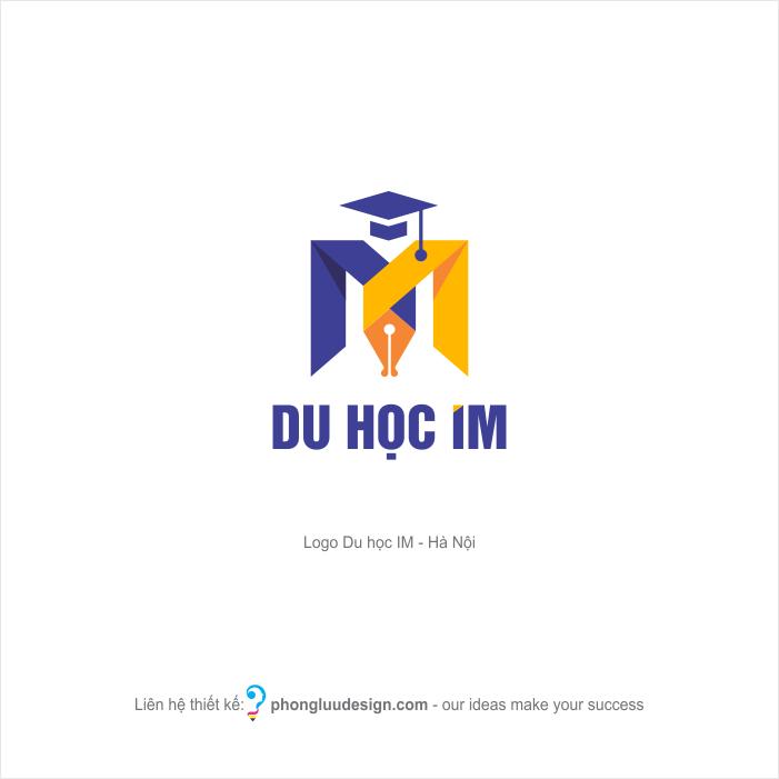 Thiết kế logo Du học IM